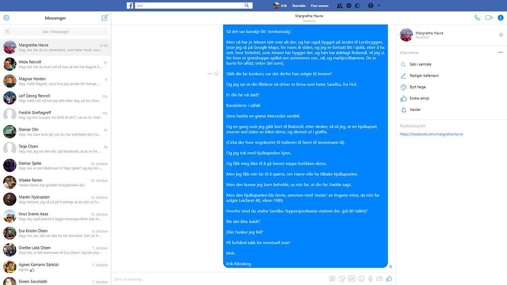 margrethe havre facebook 3
