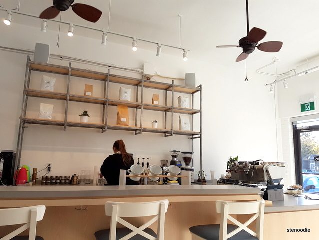 Platform Espresso Bar interior