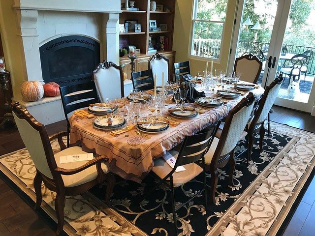 2017 Fall Dinner Party