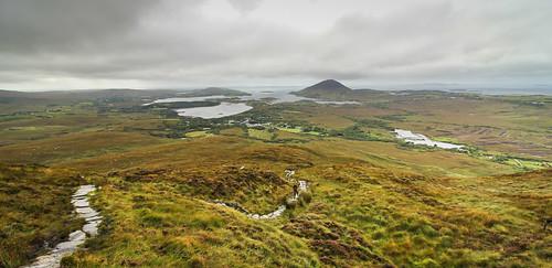 irlande ireland connemara diamond hill