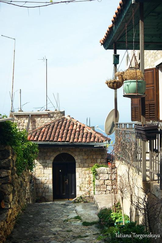 Жилые дома в Старом Улцине