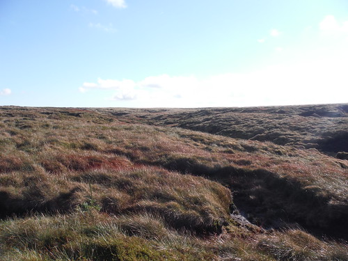 Interior of the Kinder Scout Plateau