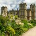 Hardwick Hall from gardens