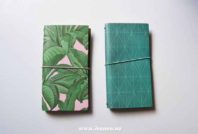 Two new Traveler's notebook blogged by iHanna #flyingtiger #flyingtigercopenhagen