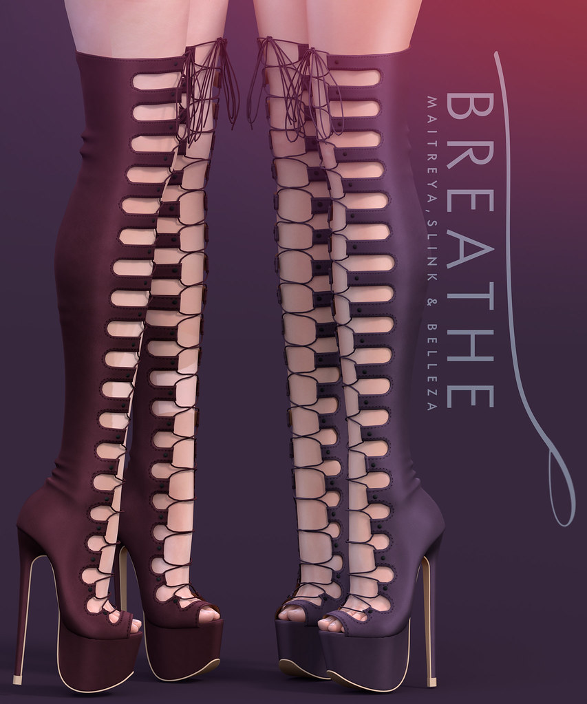 [BREATHE]-Fanny Boots - TeleportHub.com Live!