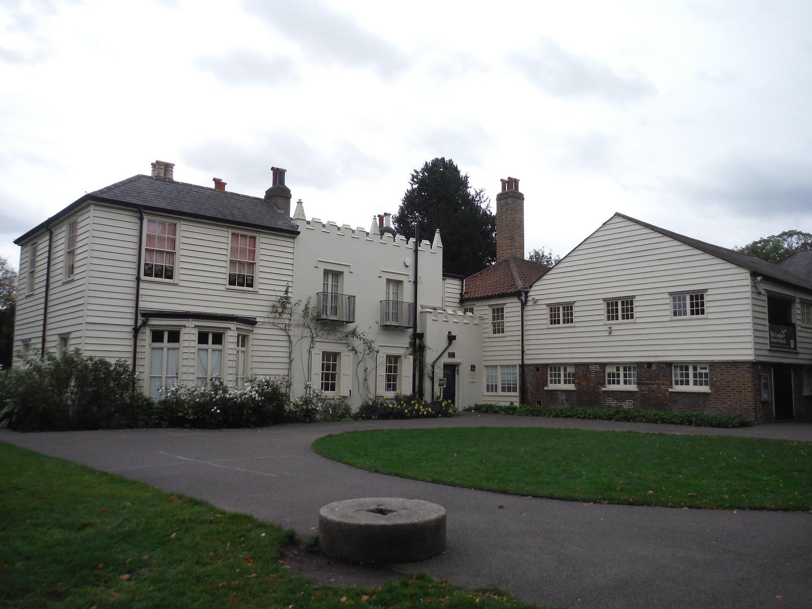 Morden Cottage, Morden Hall Park SWC Walk Short 13 - Morden Hall Park and Merton Abbey Mills