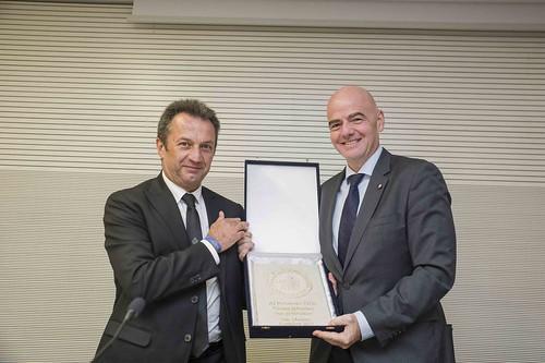 Gianni Infantino   visita ufficiale del Presidente FIFA