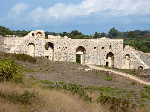 görögország greece nikopolisz nicopolis műemlék sightseeing ókori ancient ókeresztény városfal citywall