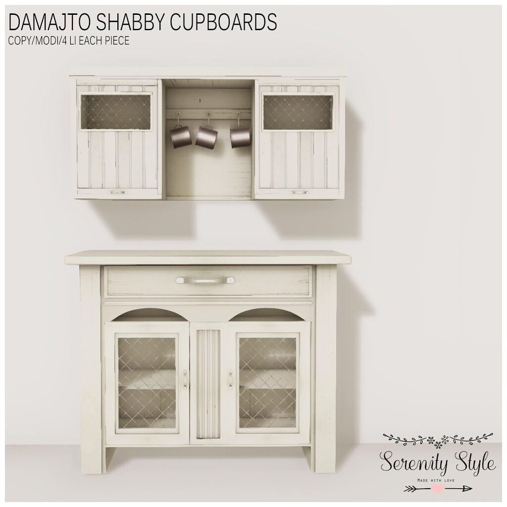 Serenity Style-Damatjo Shabby Cupboards - TeleportHub.com Live!
