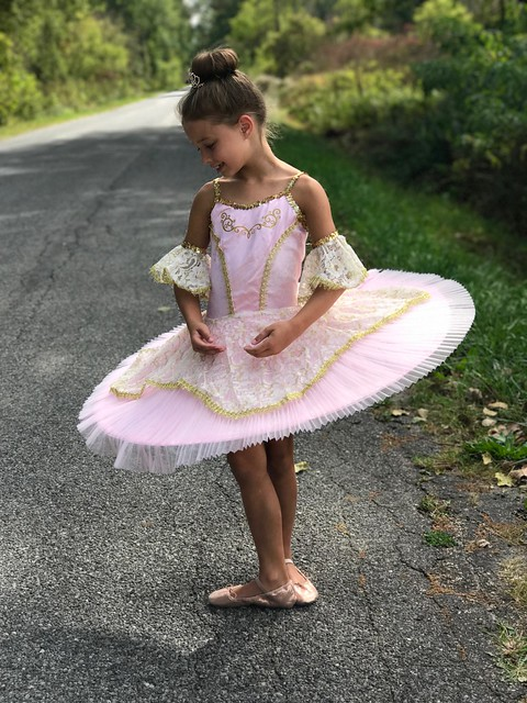 Pink Prima Ballerina Costume For Girls from Chasing Fireflies