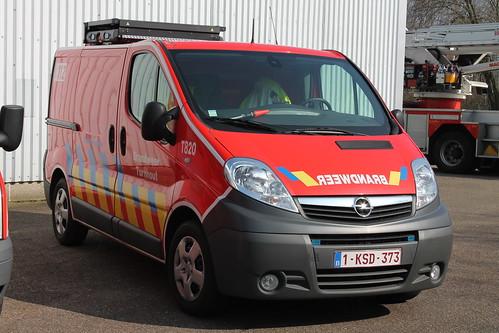Signalisatiewagen T820 Brandweer Turnhout