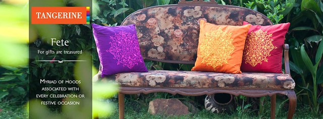 Cushions from Tangerine Tree