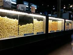 Flavoured pop-corn