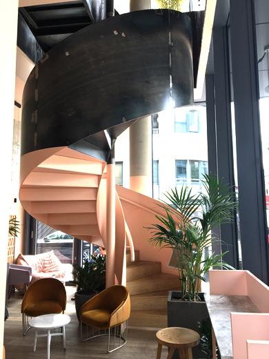 Leman Locke lobby