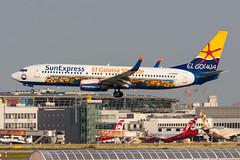 "D-ASXP - SunExpress Germany - Boeing 737-8HX(WL) - ""El Gouna Shuttle"" special colours"