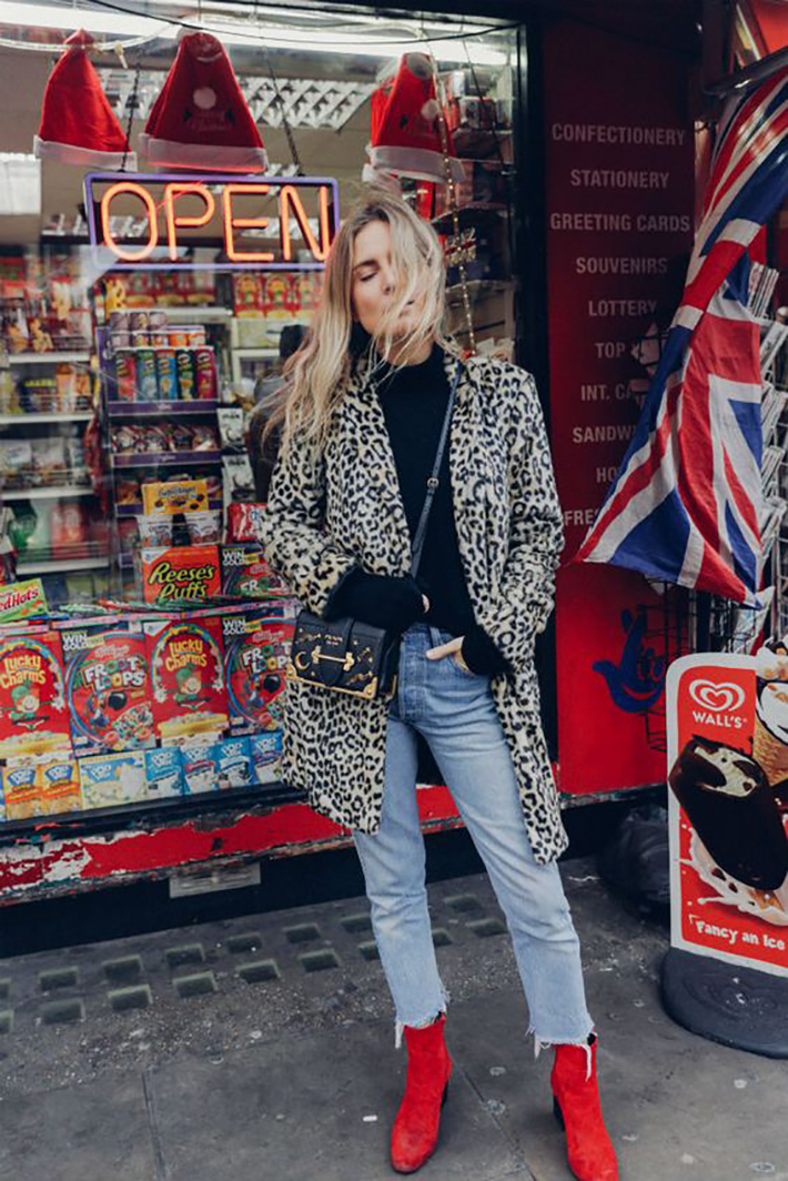 red ankle boots autumn outfits street style trend style outfit 2017 accessories denim1