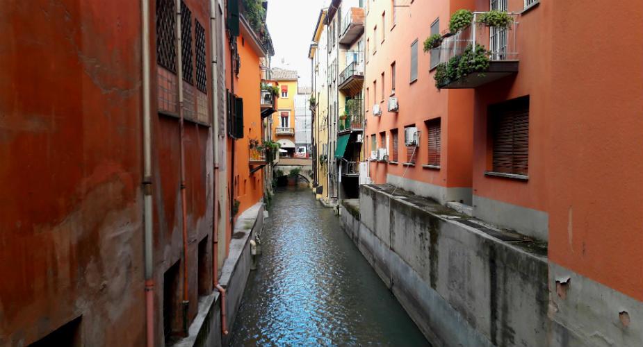 Bologna bezienswaardigheden: geheime waterwegen, Bologna | Mooistestedentrips.nl