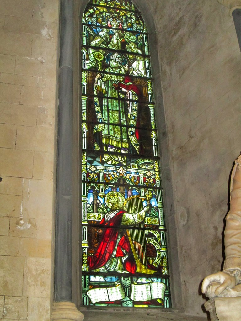 St Patricks Cathedral Dublin stained glass window 4