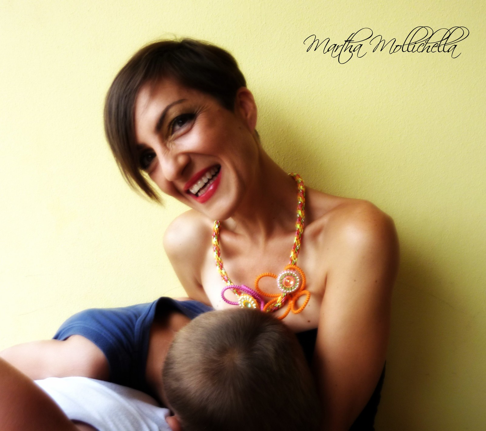 Martha Mollichella Handmade Jewelry family about face to face