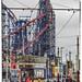 Heritage Tram and Big Dipper - Blackpool