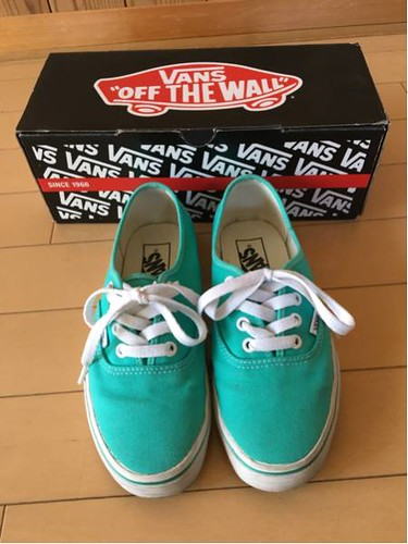 AUTHENTIC USED vans USA23.5cm24.5cm US5.0