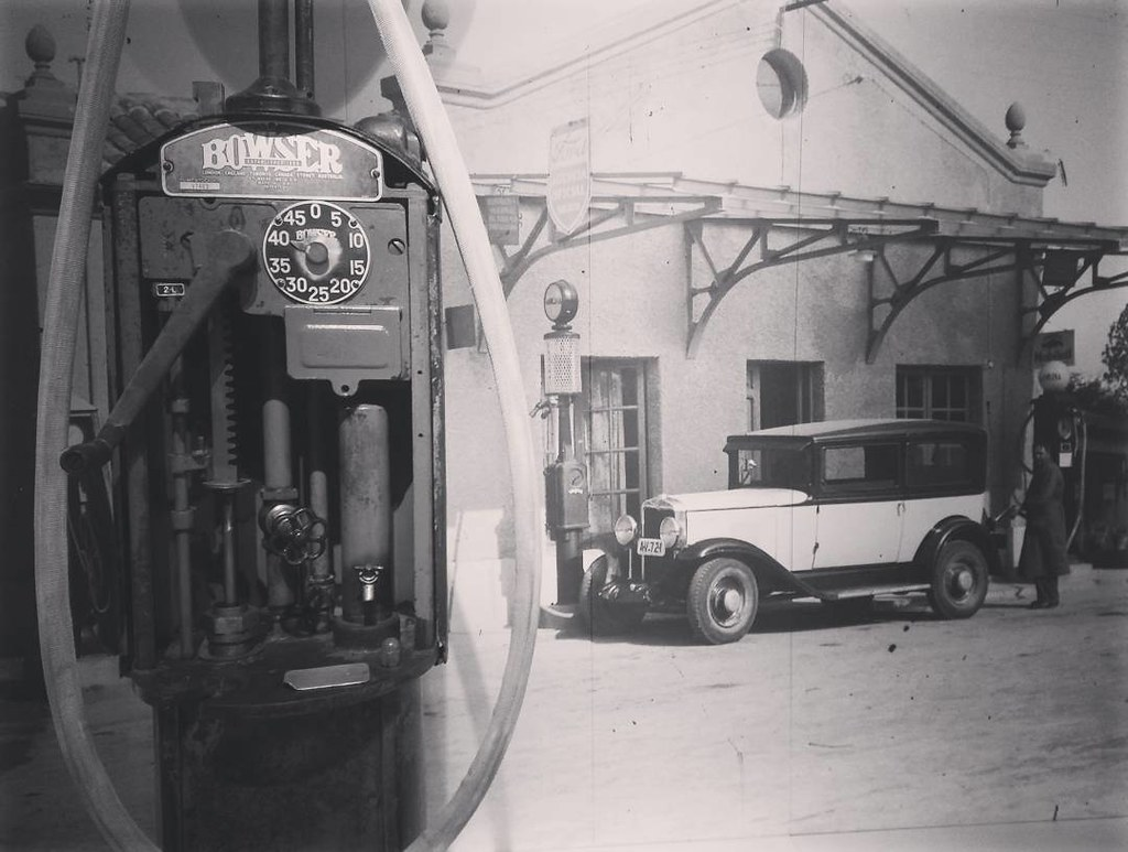 Viajando en el tiempo. #timetravel #Coruña #oilstation #phonephoto #photography