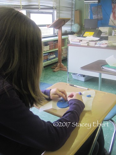 Creating African masks in a traditional US classroom. From Through the Eyes of an Educator: Expanding Our Idea of School