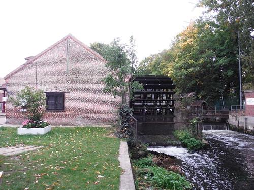 Wheelhouse on River Wandle, Merton Abbey Mills