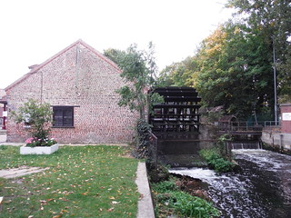 Wheelhouse on River Wandle, Merton Abbey Mills
