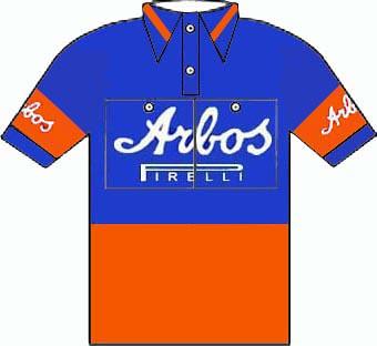 Arbos Pirelli - Giro d'Italia 1953
