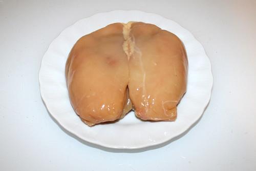 01 - Zutat Hähnchenbrustfilet / Ingredient chicken breast filet