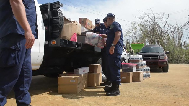 Coast Guard crews deliver supplies to orphanage in Puerto Rico