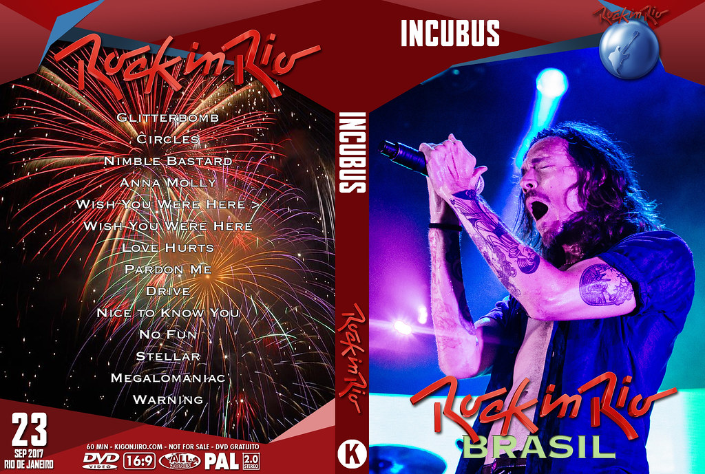Incubus - Rock In Rio 2017