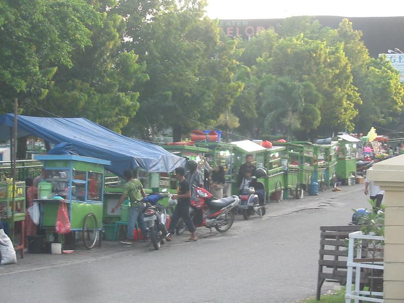 Pedestrian at Balikpapan