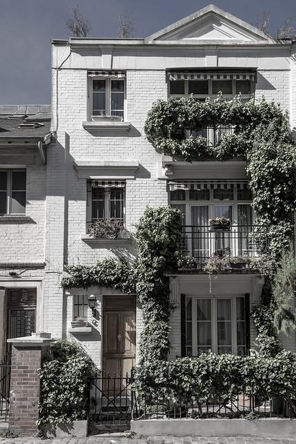 Les maisons de la villa Léandre 02 - Paris
