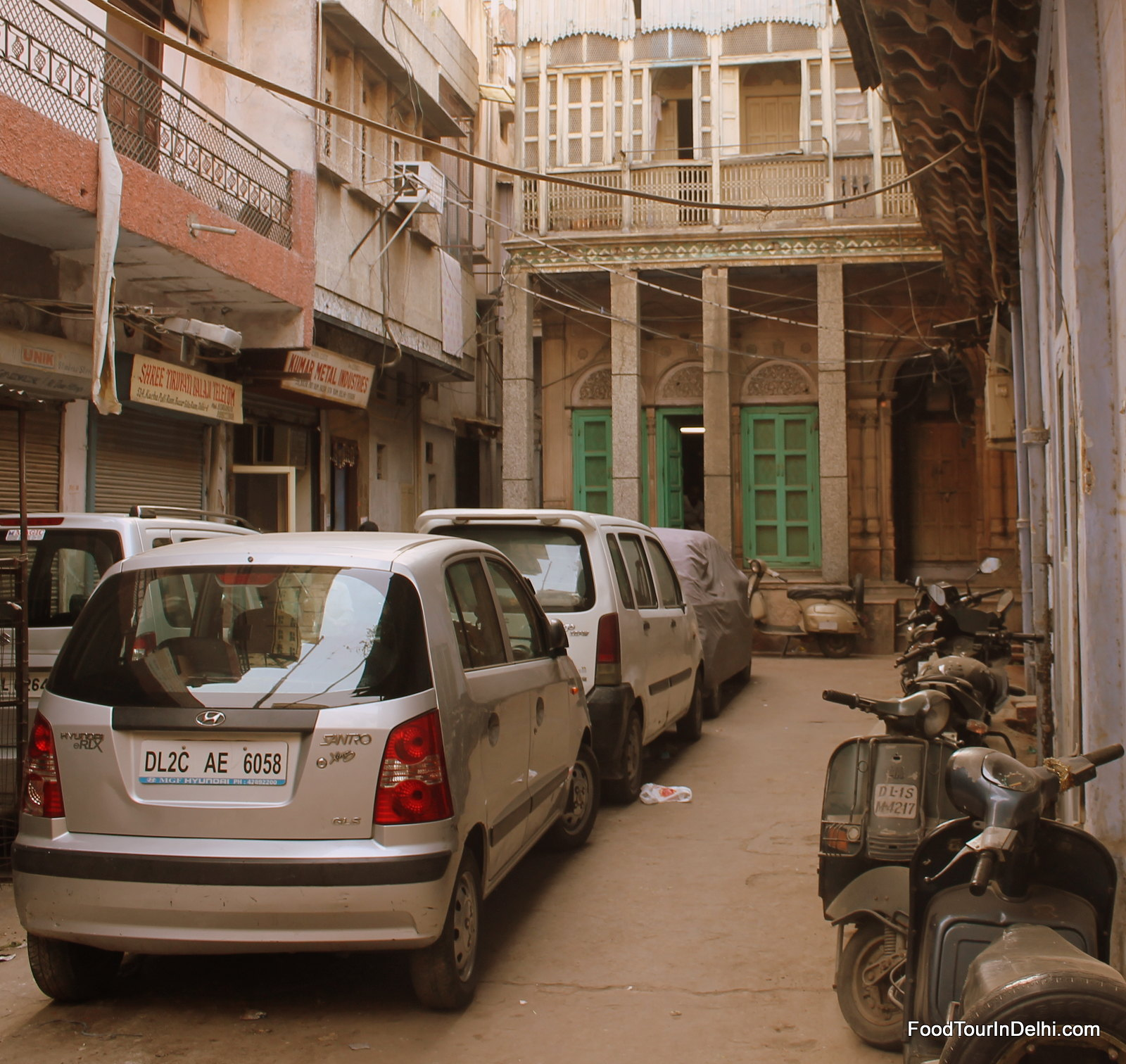 Exploring streets of Old Delhi