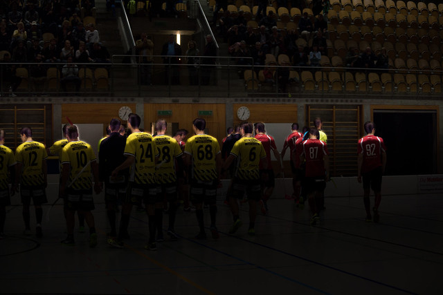 Rheintal Gators Widnau vs. Bülach Floorball (08.10.2017)