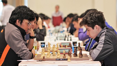 Doble oro Yucatán en ajedrez