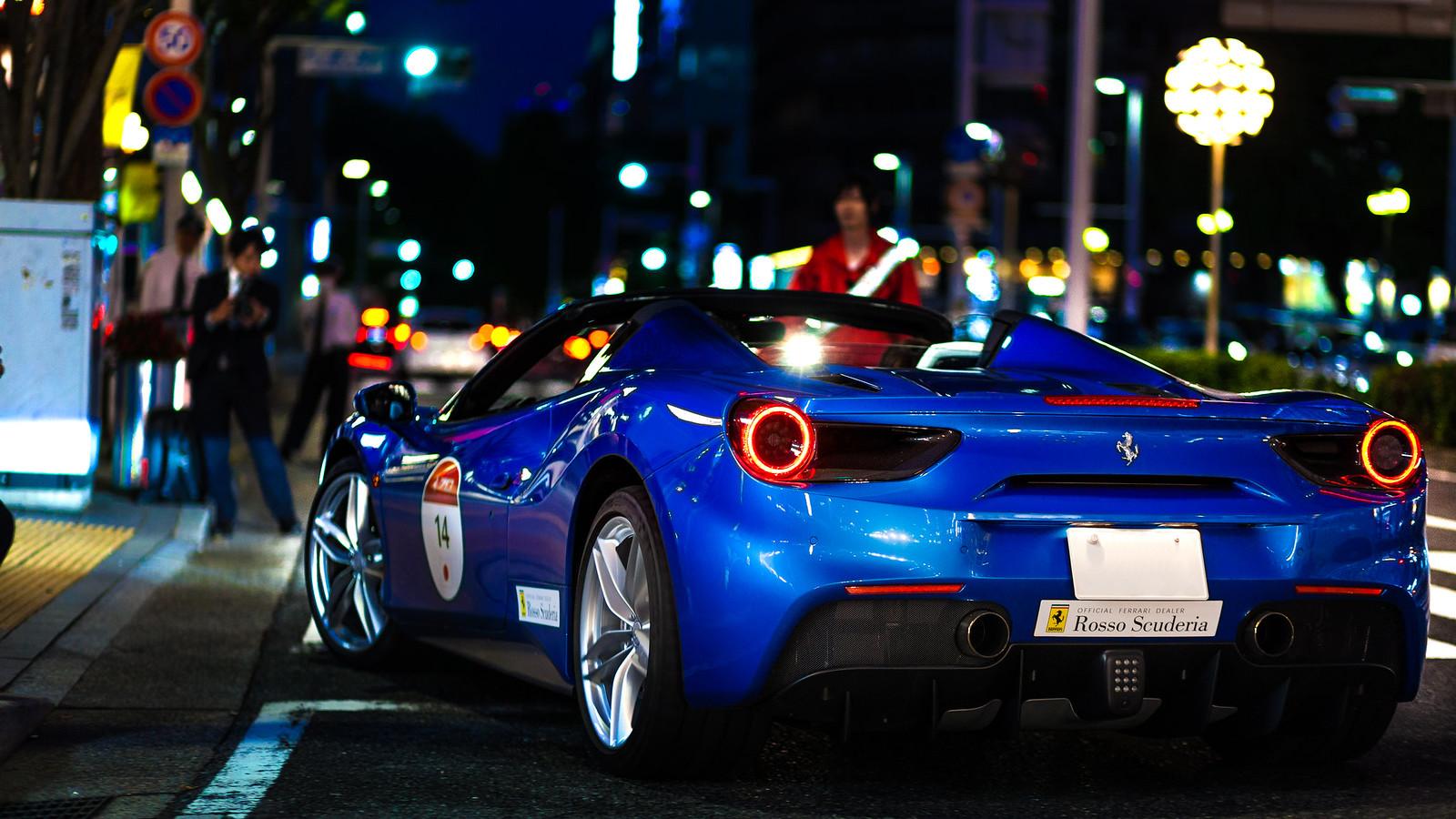 Ferrari 70th anniversary in Japan - 488spider