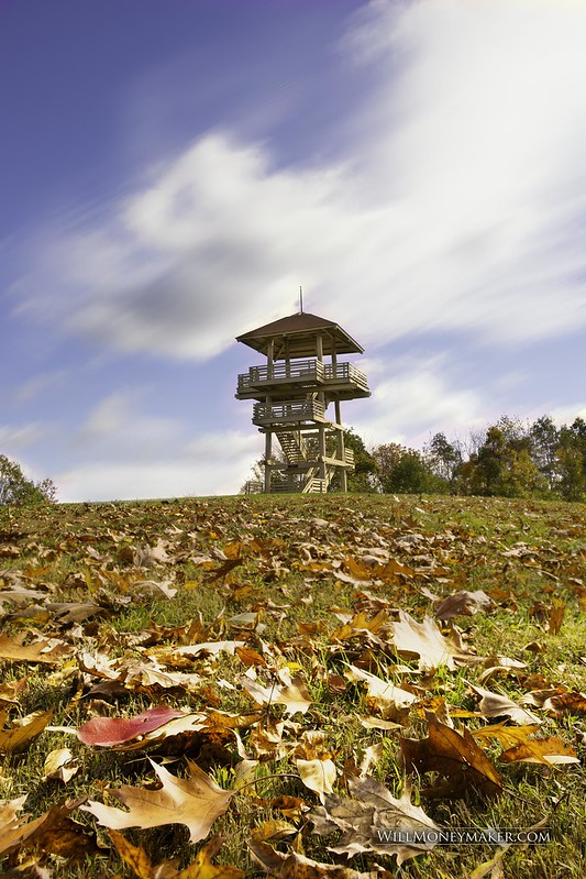 Pipestem State Park Lookout Tower in West Virginia