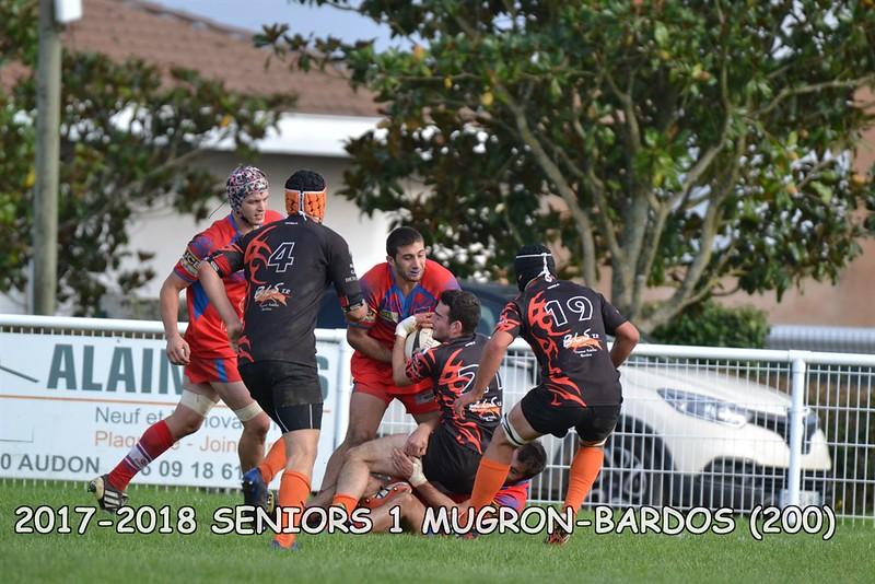 2017-2018 SENIORS 1 MUGRON-BARDOS