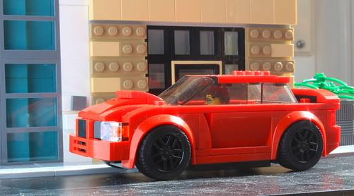 Lego Speed Champions Subaru Impreza from Baby Driver