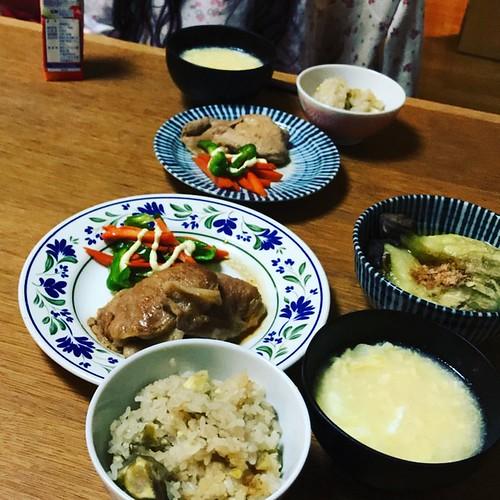 3週間ぶりの家族での食事