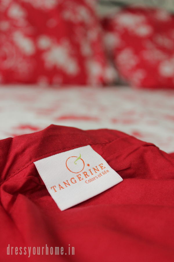 Festive makeover with Tangerine