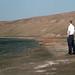 Tom at salt evaporation lake on Sal