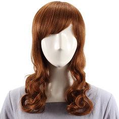 Human Hair Wig Side Bang Curly Virgin Remy Mono Top Capless (987723) #Banggood
