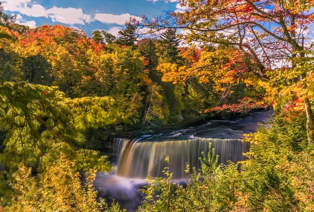 Autumn Afternoon at Tahquamenon Falls_