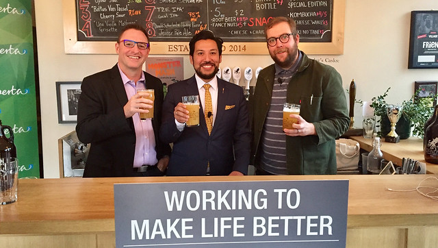 New support on tap for craft brewing industry