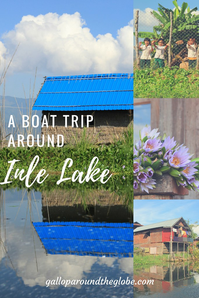 A boat trip around Inle Lake
