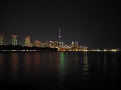 Toronto skyline by night